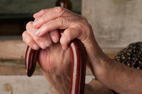 closeup of woman's hands